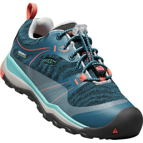 Keen Junior Terradora WP Low Shoes aqua sea/coral